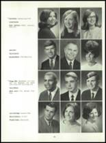1969 Connersville High School Yearbook Page 134 & 135