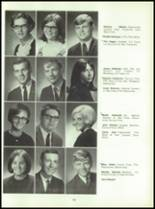 1969 Connersville High School Yearbook Page 138 & 139