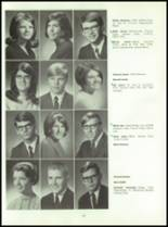 1969 Connersville High School Yearbook Page 140 & 141