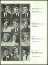 1969 Connersville High School Yearbook Page 142 & 143
