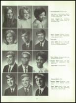 1969 Connersville High School Yearbook Page 154 & 155