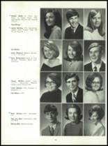 1969 Connersville High School Yearbook Page 156 & 157