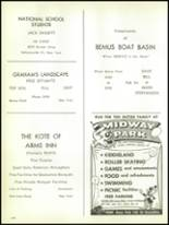 1963 Bemus Point High School Yearbook Page 110 & 111