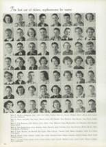 1952 West High School Yearbook Page 34 & 35