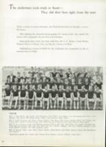 1952 West High School Yearbook Page 84 & 85