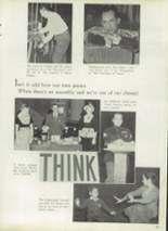 1952 West High School Yearbook Page 92 & 93