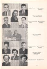 1950 Clarkston-Adams High School Yearbook Page 16 & 17