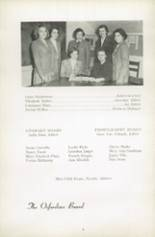 1951 Oxford School for Girls Yearbook Page 10 & 11