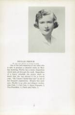 1951 Oxford School for Girls Yearbook Page 20 & 21