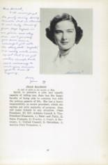 1951 Oxford School for Girls Yearbook Page 22 & 23
