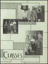 1955 Aspinwall High School Yearbook Page 20 & 21