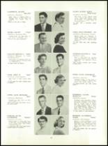1955 Aspinwall High School Yearbook Page 22 & 23