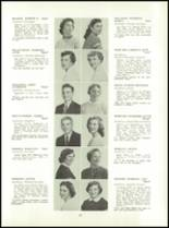 1955 Aspinwall High School Yearbook Page 26 & 27