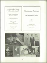 1955 Aspinwall High School Yearbook Page 98 & 99