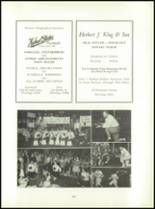 1955 Aspinwall High School Yearbook Page 100 & 101