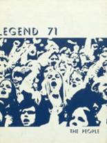 1971 Yearbook East Noble High School