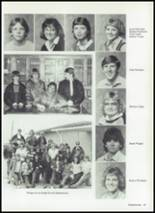 1986 Baird High School Yearbook Page 32 & 33