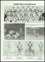 1986 Baird High School Yearbook Page 38 & 39