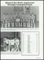 1986 Baird High School Yearbook Page 48 & 49