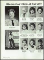 1986 Baird High School Yearbook Page 100 & 101