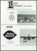 1986 Baird High School Yearbook Page 134 & 135