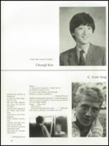 1985 The Peddie School Yearbook Page 40 & 41