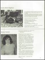 1985 The Peddie School Yearbook Page 50 & 51