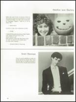 1985 The Peddie School Yearbook Page 70 & 71