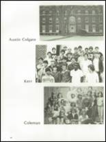 1985 The Peddie School Yearbook Page 88 & 89