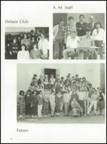 1985 The Peddie School Yearbook Page 100 & 101