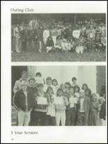 1985 The Peddie School Yearbook Page 104 & 105