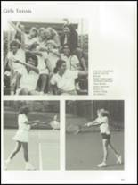 1985 The Peddie School Yearbook Page 116 & 117