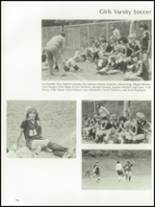 1985 The Peddie School Yearbook Page 118 & 119