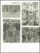 1985 The Peddie School Yearbook Page 126 & 127
