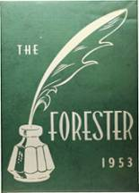 1953 Yearbook Forest Avenue High School
