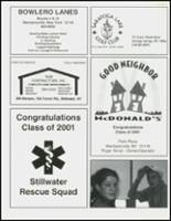 2001 Stillwater High School Yearbook Page 152 & 153