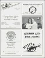2001 Stillwater High School Yearbook Page 160 & 161