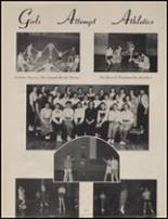 1954 Maple Valley High School Yearbook Page 14 & 15