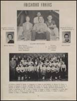 1954 Maple Valley High School Yearbook Page 18 & 19