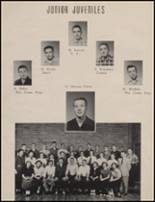 1954 Maple Valley High School Yearbook Page 20 & 21