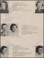 1954 Maple Valley High School Yearbook Page 36 & 37