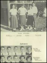 1955 Farmer High School Yearbook Page 30 & 31