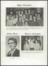 1959 Park Rapids High School Yearbook Page 14 & 15