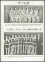 1959 Park Rapids High School Yearbook Page 52 & 53
