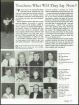 1992 Oakland Catholic High School Yearbook Page 74 & 75