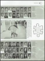 2001 Lincoln High School Yearbook Page 72 & 73