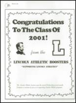 2001 Lincoln High School Yearbook Page 160 & 161