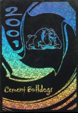 2001 Yearbook Cement High School