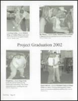 2002 Castleberry High School Yearbook Page 40 & 41