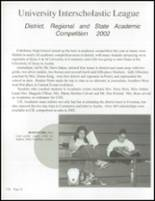 2002 Castleberry High School Yearbook Page 104 & 105
